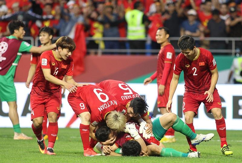 Tuyển Việt Nam Bắt Ngờ Lọt Vào Tứ Kết Tại Asian Cup 2019.
