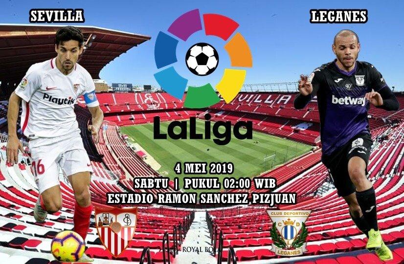Trên sân nhà Sevilla tiếp đón Leganes.