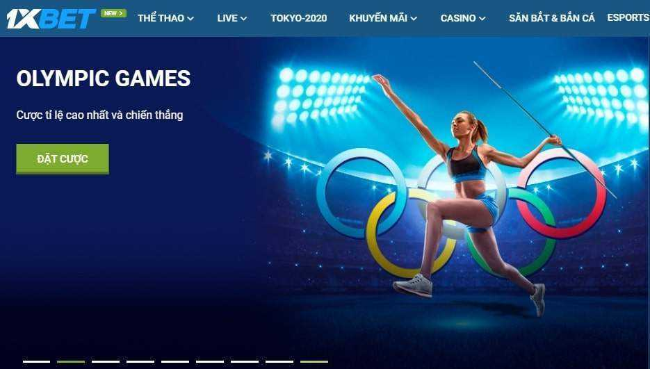 1xbet olympic games